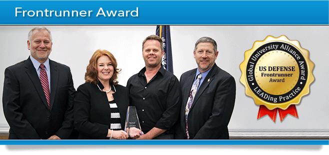 GUA Award Banner - Frontrunner Award - US Defense