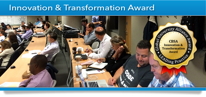 GUA Award Banner - Innovation & Transformation Award - CBSA