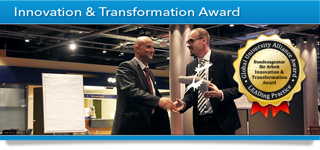 GUA Award Banner - Innovation & Transformation Award - German Government