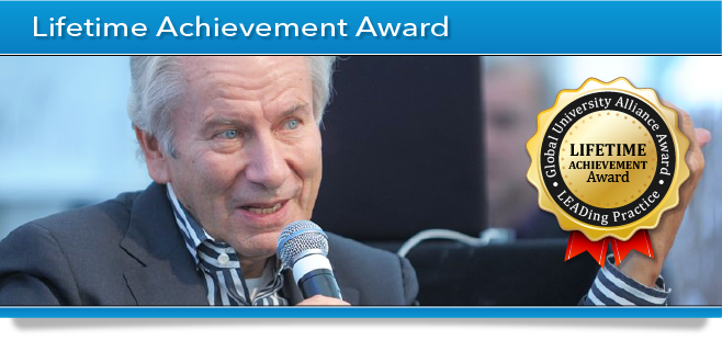 GUA Award Banner - Lifetime Achievement Award - August-Wilhelm Scheer