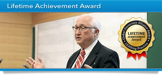 GUA Award Banner - Lifetime Achievement Award - John Zachman