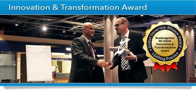 GUA Award Banner - Innovation & Transformation Award - German Government